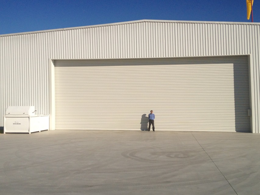 installers of aircraft hanger doors